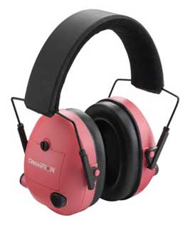 CHAMPION TRAPS AND TARGETS CHAMPIONTRAPS40975 ELECTRONIC EAR MUFFS, PINK