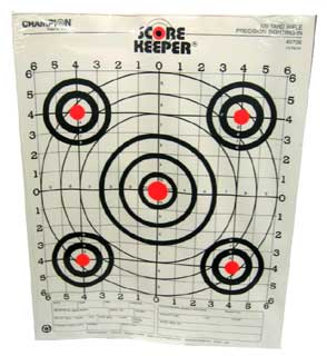 CHAMPION TRAPS AND TARGETS CHAMPIONTRAPS45726 ORANGE BULL 100YD RIFLE