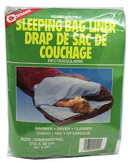 COGHLANS COGHLANS0140 SLEEPING BAG LINER - RECTANGULAR