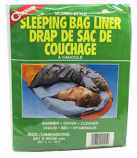 COGHLANS COGHLANS0145 SLEEPING BAG LINER - MUMMY