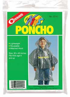 Coghlans Coghlans0242 Poncho for Kids