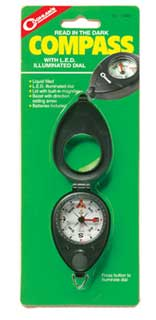COGHLANS COGHLANS0448 COMPASS WITH LED