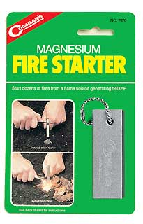 COGHLANS COGHLANS7870 MAGNESIUM FIRE STARTER