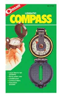COGHLANS COGHLANS8164 LENSATIC COMPASS