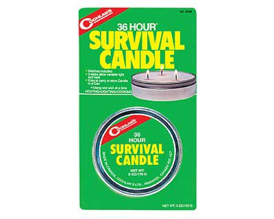 Coghlans Coghlans9248 Emergency 36-Hr Survival Candle