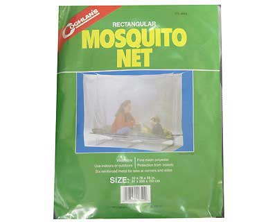 COGHLANS COGHLANS9640 MOSQUITO NET - SINGLE - WHITE