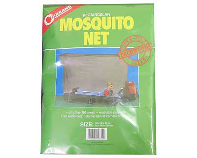 COGHLANS COGHLANS9755 BACKWOODS MOSQUITO NET GRN SINGLE