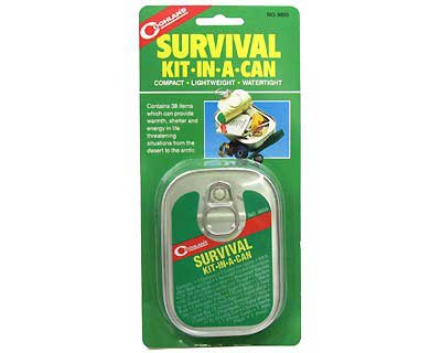 COGHLANS COGHLANS9850 SURVIVAL KIT-IN-A-CAN