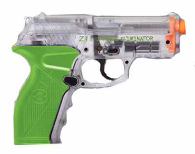 Crosman AMZ11C Zombie Eliminator CO2 Pistol Clear