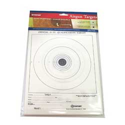Crosman Crosman0486 Official Airgun Target Pack /25