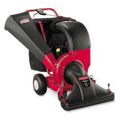 TROY-BILT CSV206 HEAVY DUTY SELF-PROPELLED CHIPPER-SHREDDER-VAC