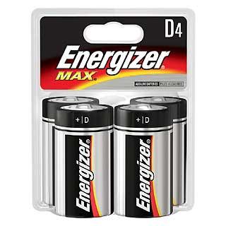 ENERGIZER E95BP-4 PREMIUM MAX D (PER 4)
