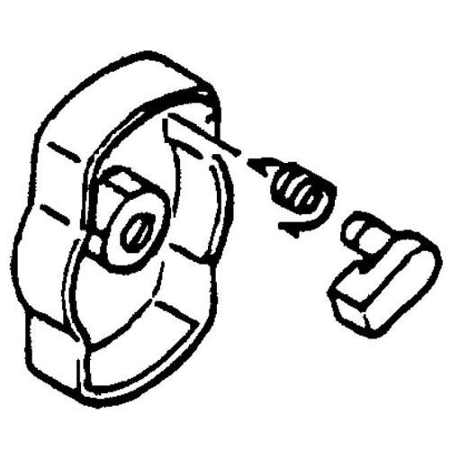 Echo 17720244330 STARTER PULLEY ASSEMBLY