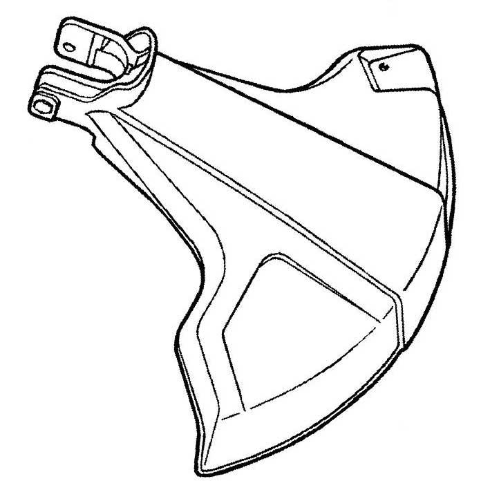 Echo 69901044330 Plastic Blade Shield