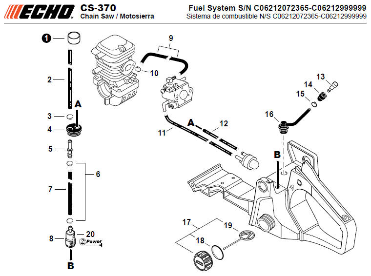 mcculloch weed eater parts diagram