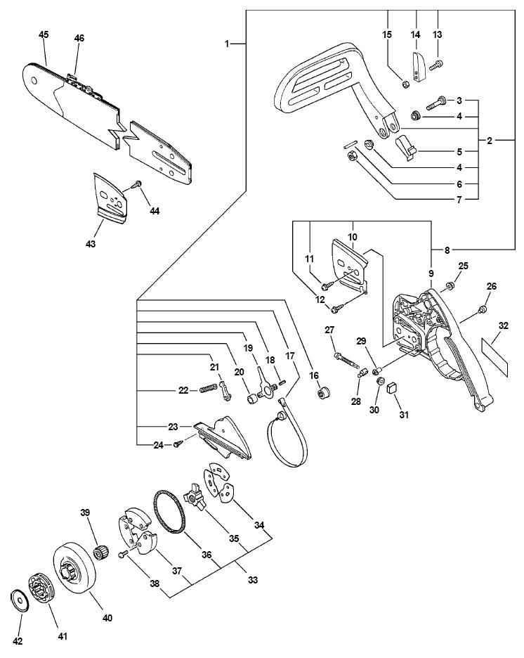 echo backpack blower wiring diagram echo brush cutter