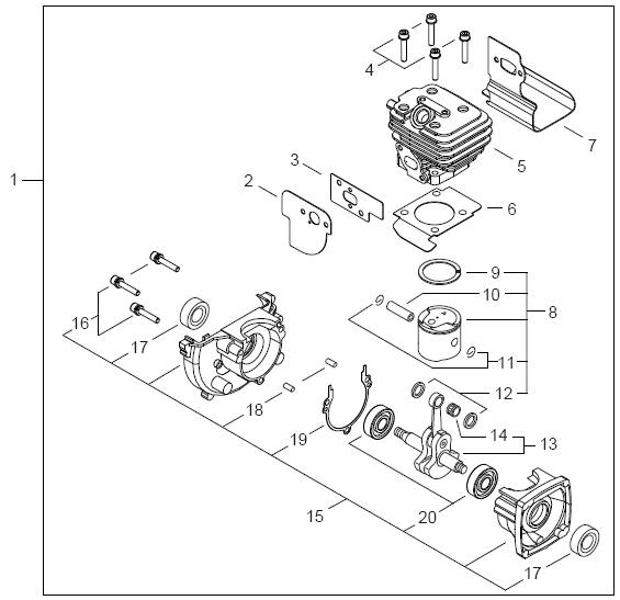Echo Pb 250 Blower Parts Diagram Sn P05412001001 P05412999999