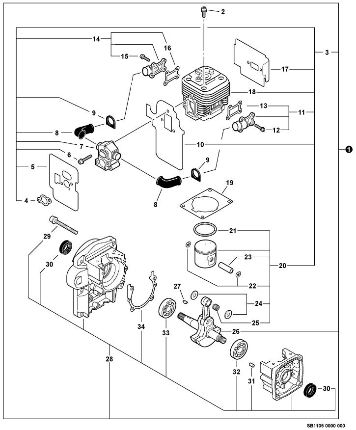 Wiring Diagram  35 Echo Blower Parts Diagram
