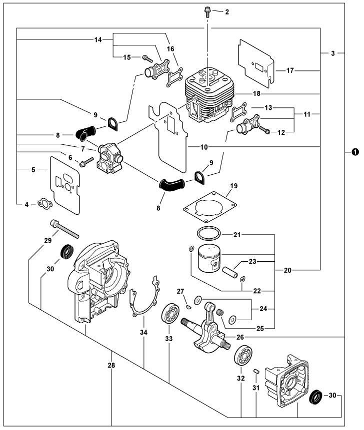 model a tillotson carburetor diagram