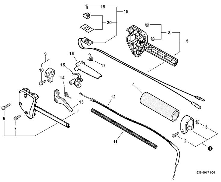 walker mower ignition switch diagram