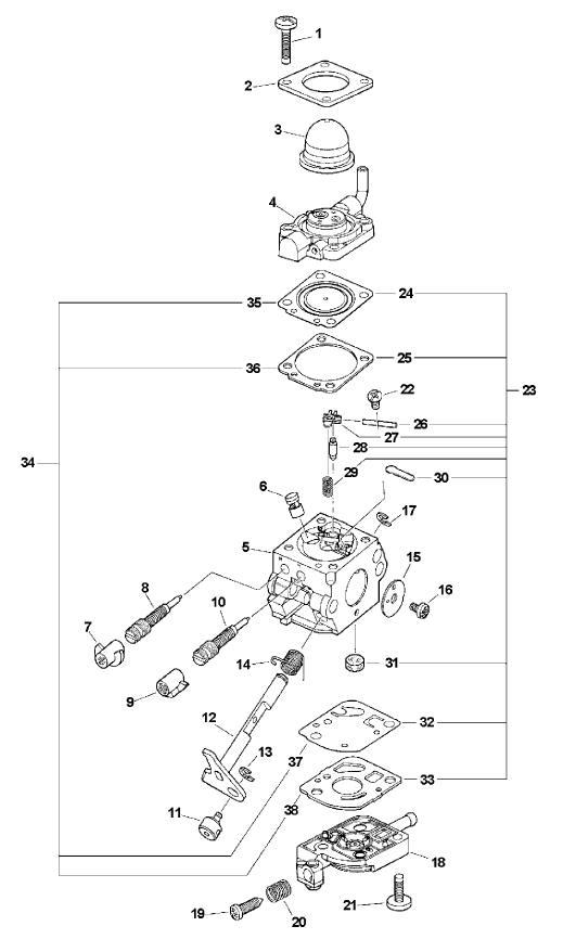 zama c1q carburetor parts guide