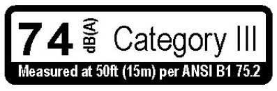 Echo X508000180 Noise Label