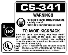 Echo X524000334 Label