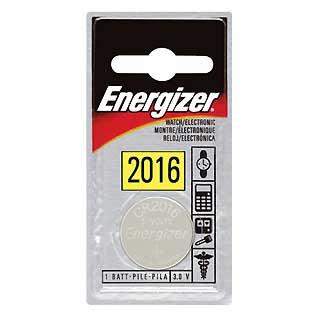 ENERGIZER ECR2016BP LITHIUM COIN #2016 3-VOLT (EACH)