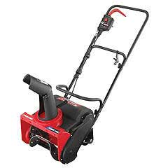 "TROY-BILT FL14E 14"" FLURRY SINGLE-STAGE ELECTRIC SNOW THROWER"