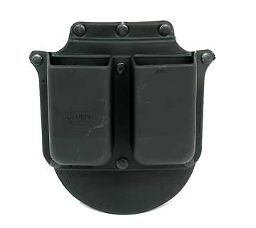 FOBUS FOBUS6945P DOUBLE MAG POUCH-PADDLE-RH,GLOCK