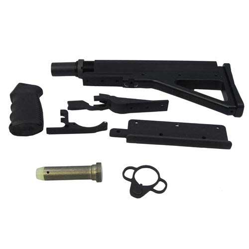 FosTech Outdoors D-15-RH-F DefendAR-15 RH Complete Assembly Fixed
