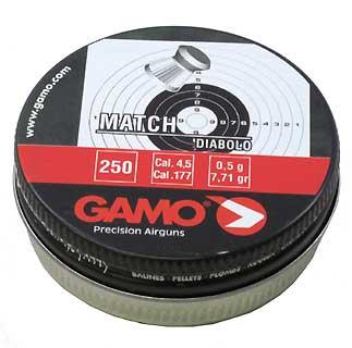 GAMO GAMO632002454 MATCH PELLETS (FLAT) .177 CAL