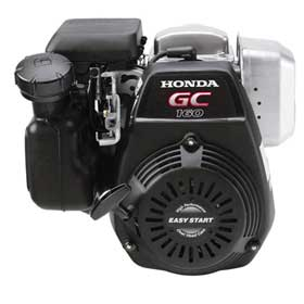 "HONDA GC160LAQHA HORIZONTAL ENGINE 2.44 x .75"" dia."