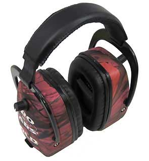 PRO EARS GS-DPM-PINKCAMO PRO MAG GOLD NRR 33 PINK RT CAMO