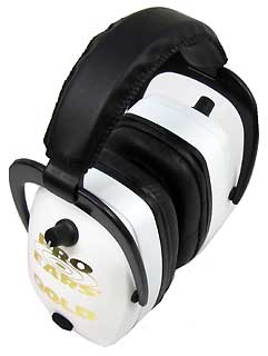 PRO EARS GS-DPM-WHITE PRO MAG GOLD NRR 33 WHITE