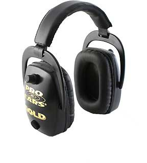PRO EARS GS-DPS-BLACK PRO SLIM GOLD NRR 28 BLACK