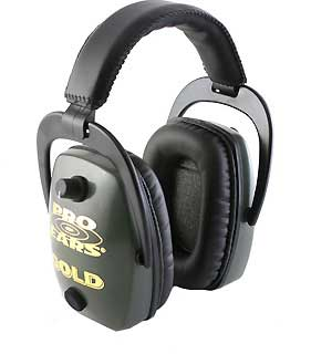 PRO EARS GS-DPS-GREEN PRO SLIM GOLD NNR 28 GREEN