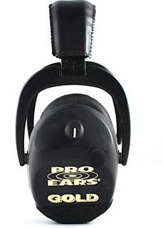 PRO EARS GS-DSC-BLACK SPORTING CLAY GOLD NRR 25 BLACK