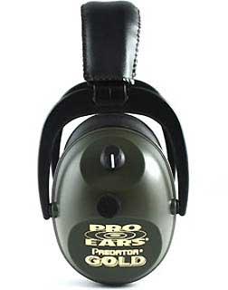 PRO EARS GS-P300-GREEN PREDATOR GOLD NRR 26 GREEN