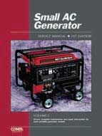 CLYMER GSM-3 SERVICE MANUAL SMALL AC GENERATOR VOLUME 2