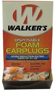 WALKERS GAME EAR GWP-FOAMPLUG200 FOAM EAR PLUGS (PER 200)