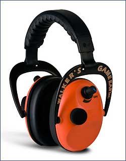 WALKERS GAME EAR GWP-PMO POWER MUFFS W/AFT ORANGE