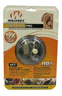 WALKERS GAME EAR GWP-WGE2HDG DIGITAL HD PRO - GREY
