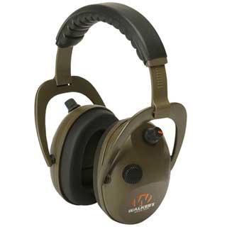 WALKERS GAME EAR GWP-WREPMBN POWER MUFFS, ELEC, D-MAX, GREEN