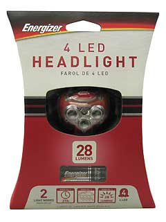ENERGIZER HD4L33AE 4-LED HEADLIGHT