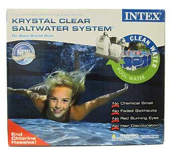 INTEX INTEX54601E KRYSTAL CLEAR SALTWATER SYSTEM