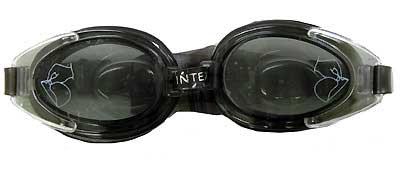 INTEX INTEX55685-B WATER PRO GOGGLES, BLACK, AGE 8+