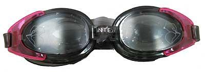 INTEX INTEX55685-P WATER PRO GOGGLES, PINK, AGE 8+
