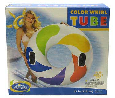 INTEX INTEX58202E COLOR WHIRL TUBE W/HANDLES
