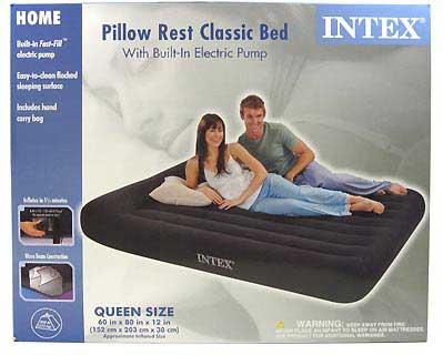 INTEX INTEX66777E PILLOW REST CLASSIC AIRBED, QUEEN